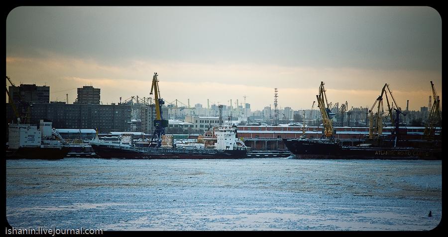 Петербург, Морской порт