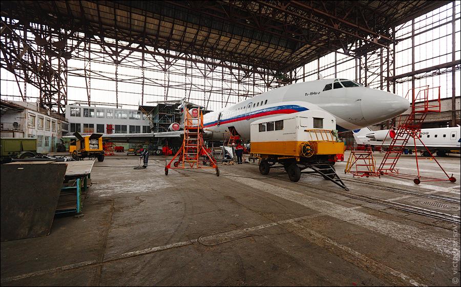 1351 Как обслуживают и ремонтируют самолеты