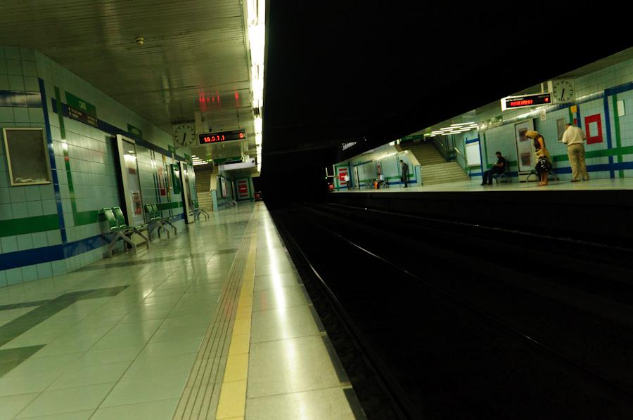 Метро в Анкарі.
