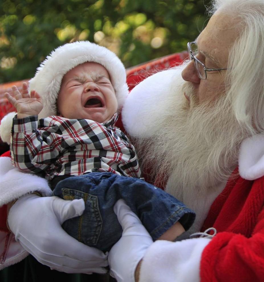 Разные Санта Клаусы