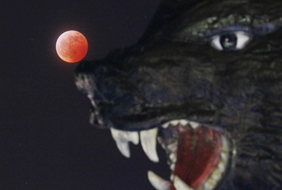 Зимнее солнцестояние и лунное затмение