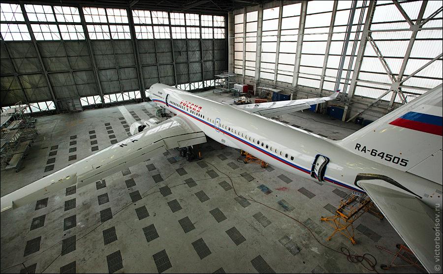 1643 Как обслуживают и ремонтируют самолеты