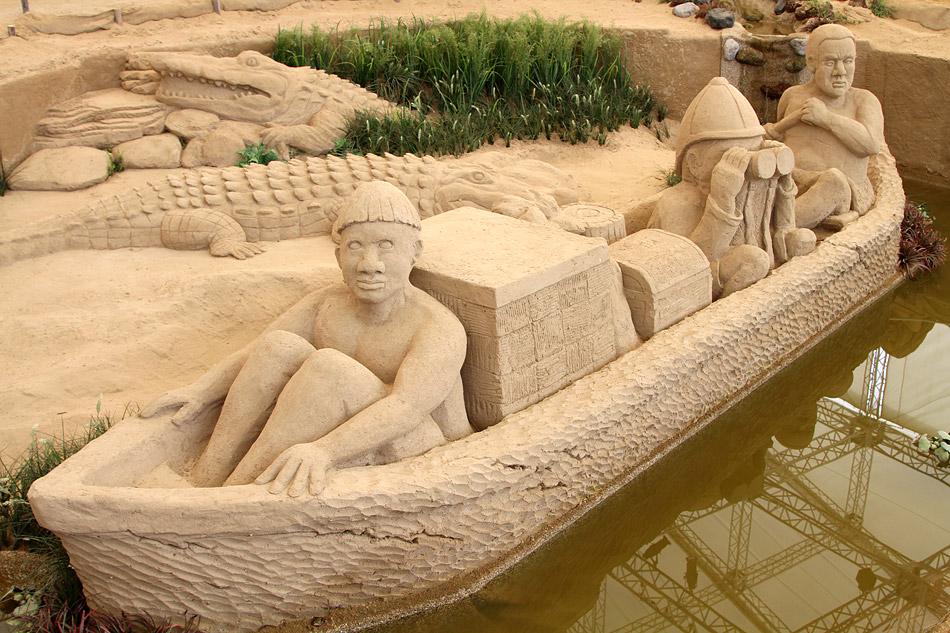 1962 музей песчаных скульптур в японии