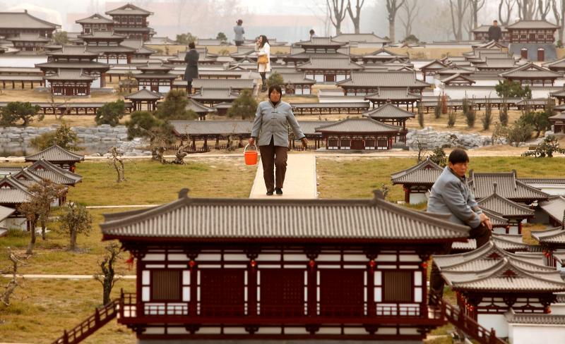 Дворец Даминг в городе Сиань, китайская провинция Шэньси