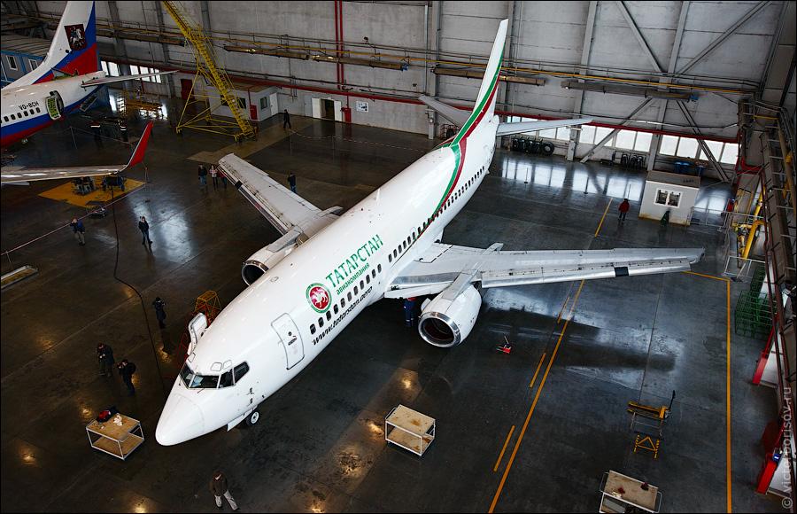 2226 Как обслуживают и ремонтируют самолеты