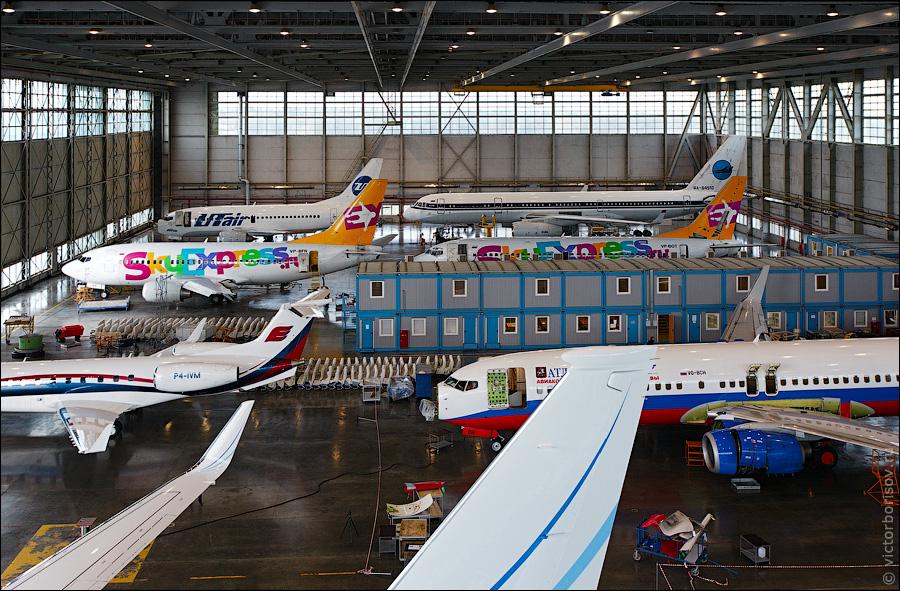 2322 Как обслуживают и ремонтируют самолеты