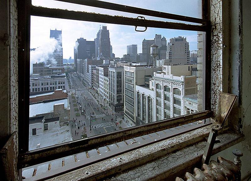 Заброшенный город