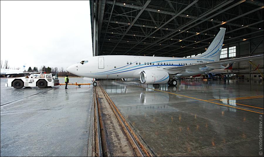 Как обслуживают и ремонтируют самолеты