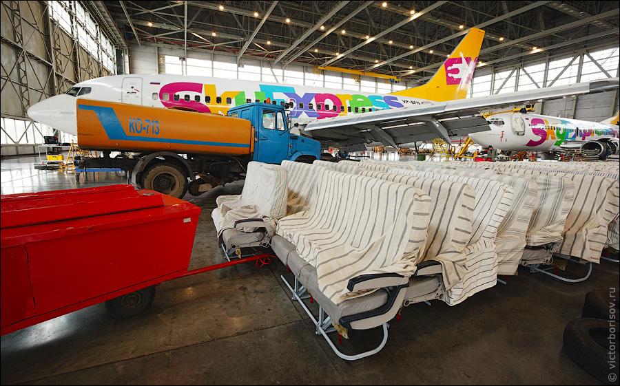 3314 Как обслуживают и ремонтируют самолеты