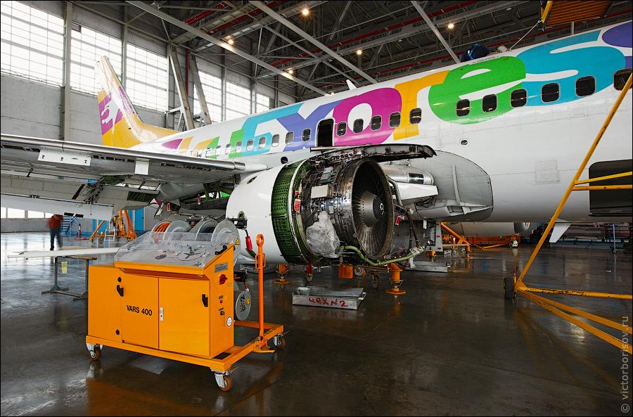 3610 Как обслуживают и ремонтируют самолеты