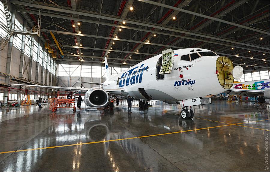 3710 Как обслуживают и ремонтируют самолеты