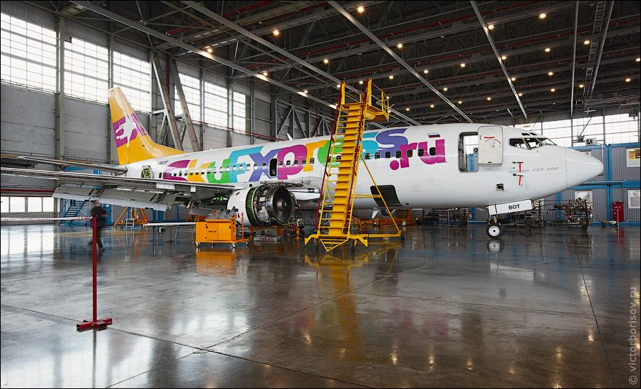 388 Как обслуживают и ремонтируют самолеты