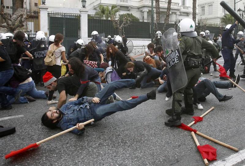 Как милиция на Евромайдане от людей отбивалась - Цензор.НЕТ 6952