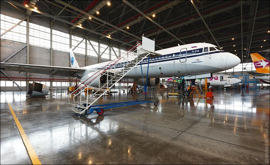 396 Как обслуживают и ремонтируют самолеты