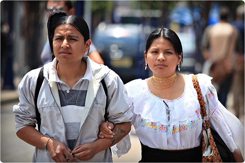 Индейцы отавалос