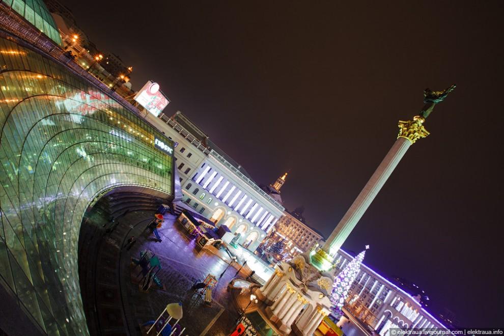 Предновогодний Киев