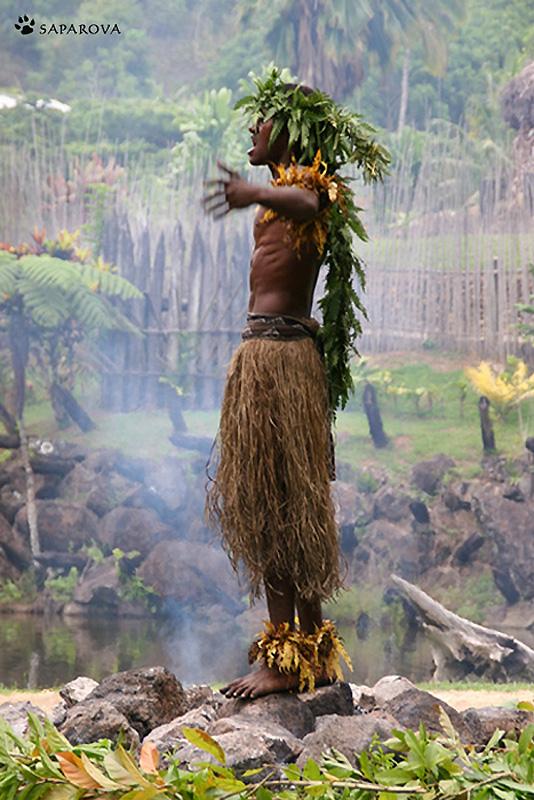 Sekali waktu ada seorang gadis satu hari di Fiji ...