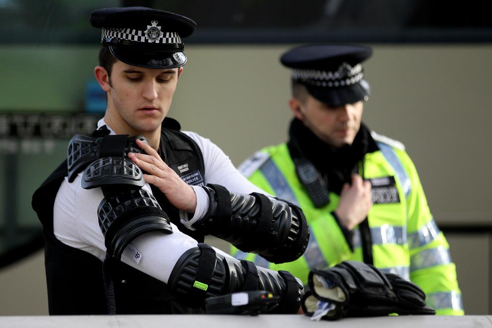 l03 2626 Студенческие акции протеста в Лондоне