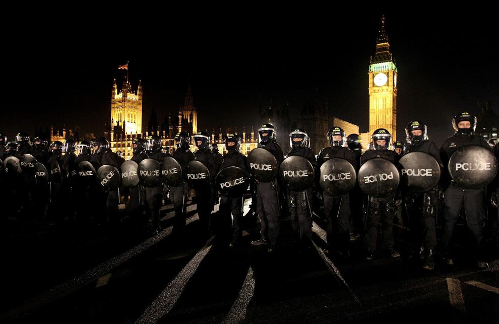 l24 2626 Студенческие акции протеста в Лондоне