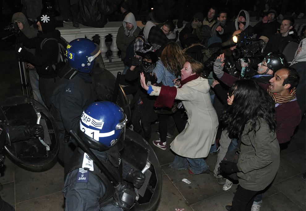 l29 2626 Студенческие акции протеста в Лондоне