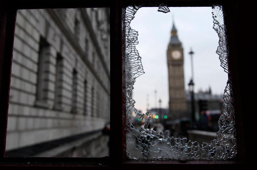 l37 2627 Студенческие акции протеста в Лондоне