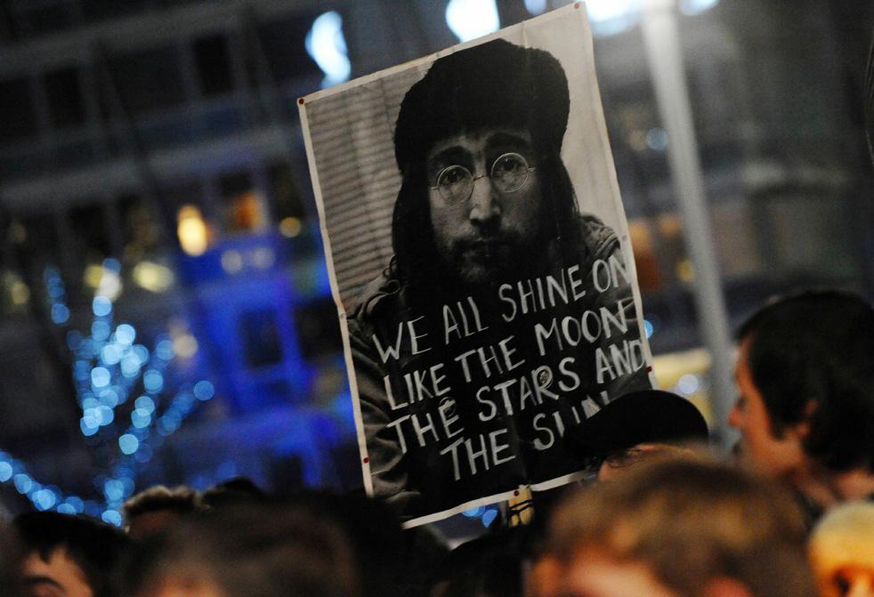 lennon q 30 я годовщина смерти Джона Леннона