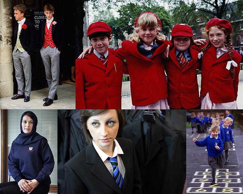 0044 Школьная форма в Англии