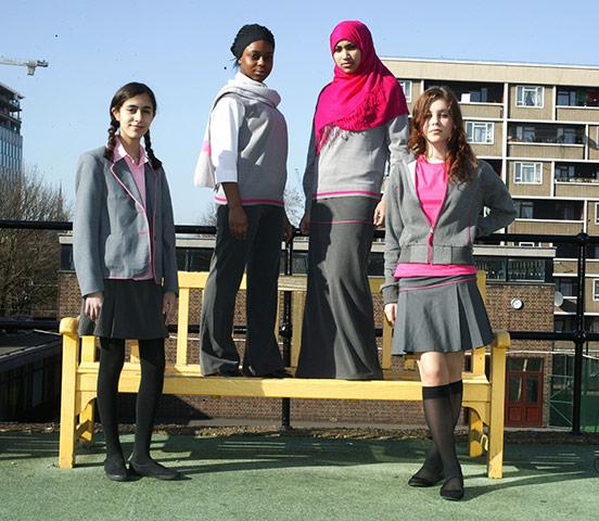 0327 Школьная форма в Англии