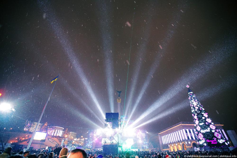 082 Новый Год на Майдане