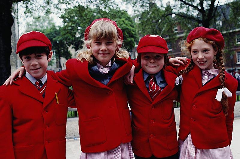0922 Школьная форма в Англии