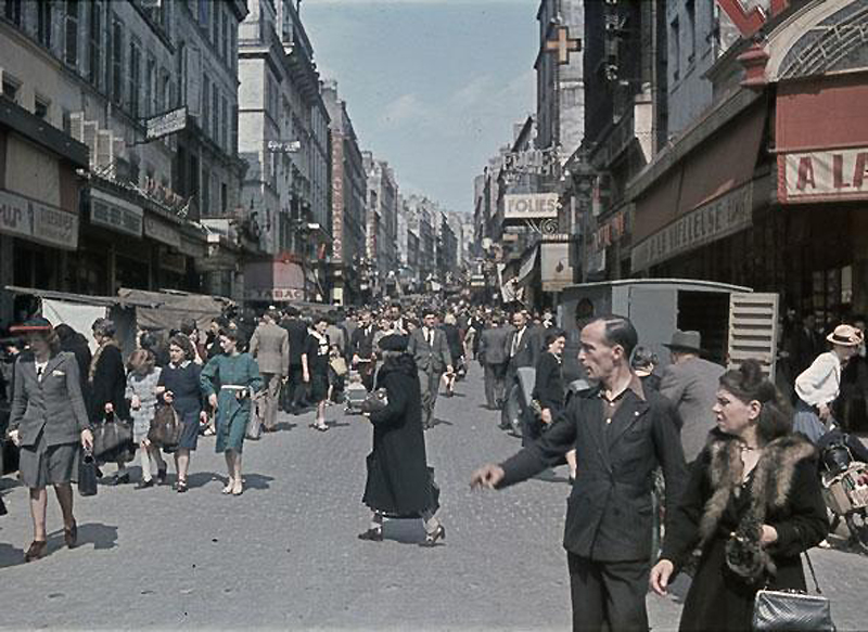 1101 Франция времен немецкой оккупации