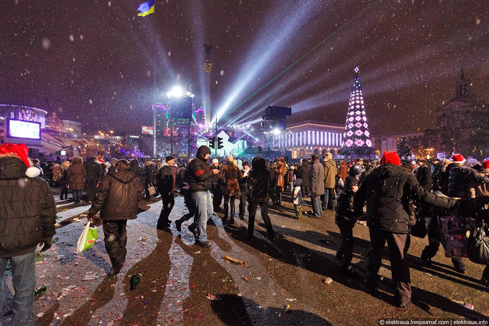 121 Новый Год на Майдане