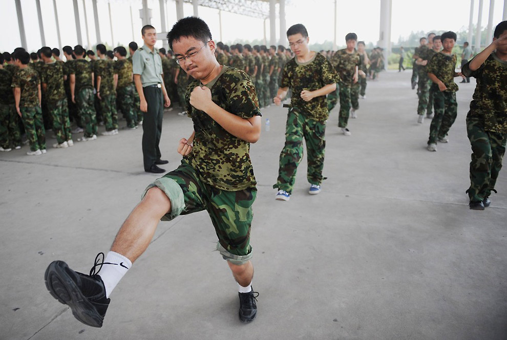 Азия наращивает мускулы