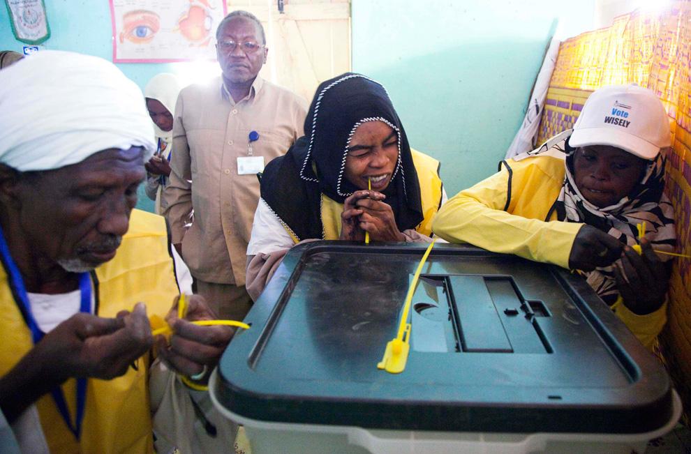 Голосование в Судане