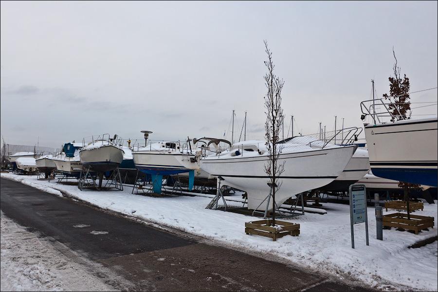 Зимовье яхт