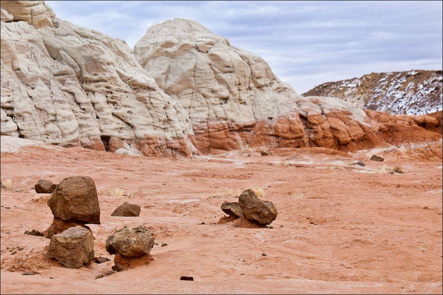 Глиняные грибы штата Юта