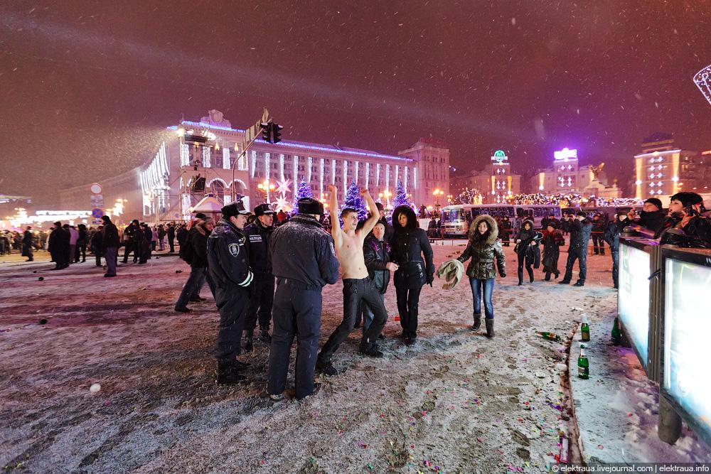 131 Новый Год на Майдане