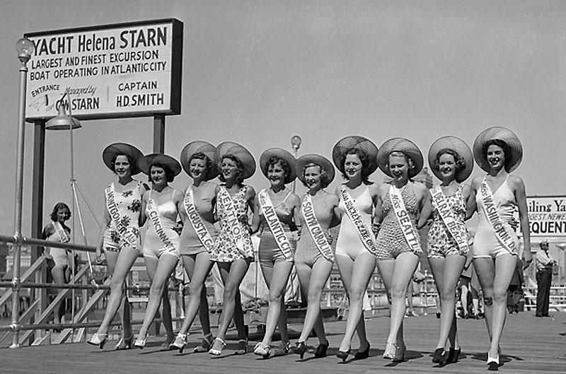 Мисс Америка тогда и сейчас