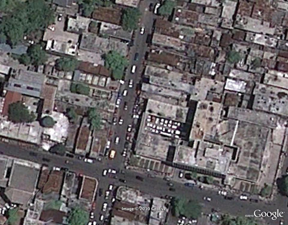 Гаити - вид сверху, год спустя