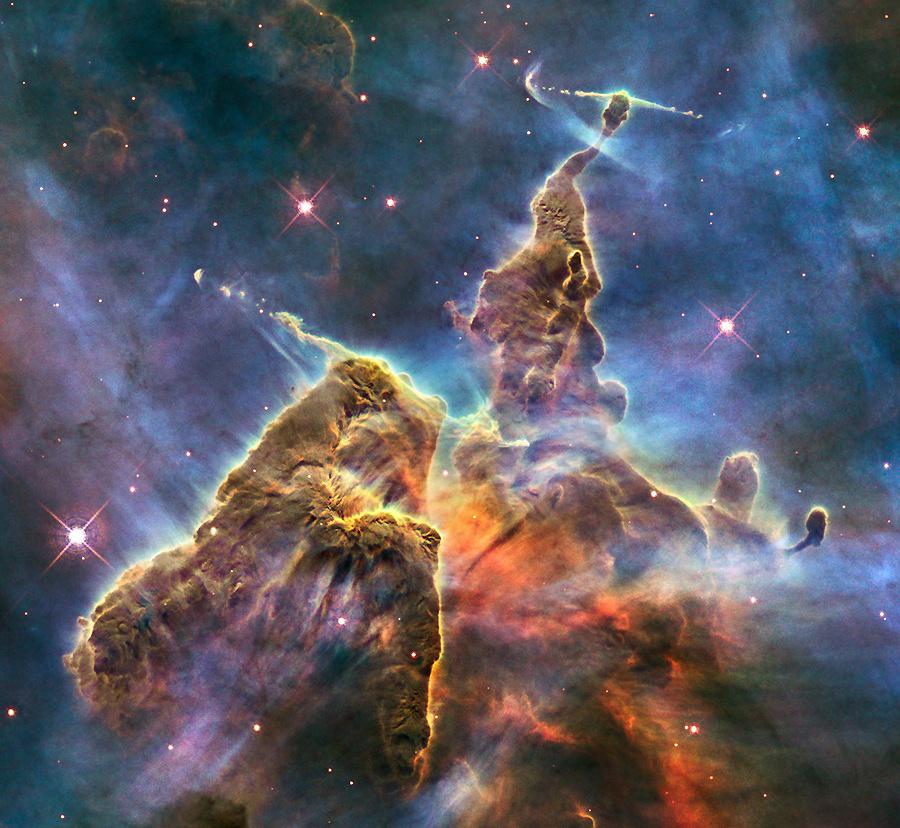 1715 Фото далекого космоса, сделанные телескопом Хаббл