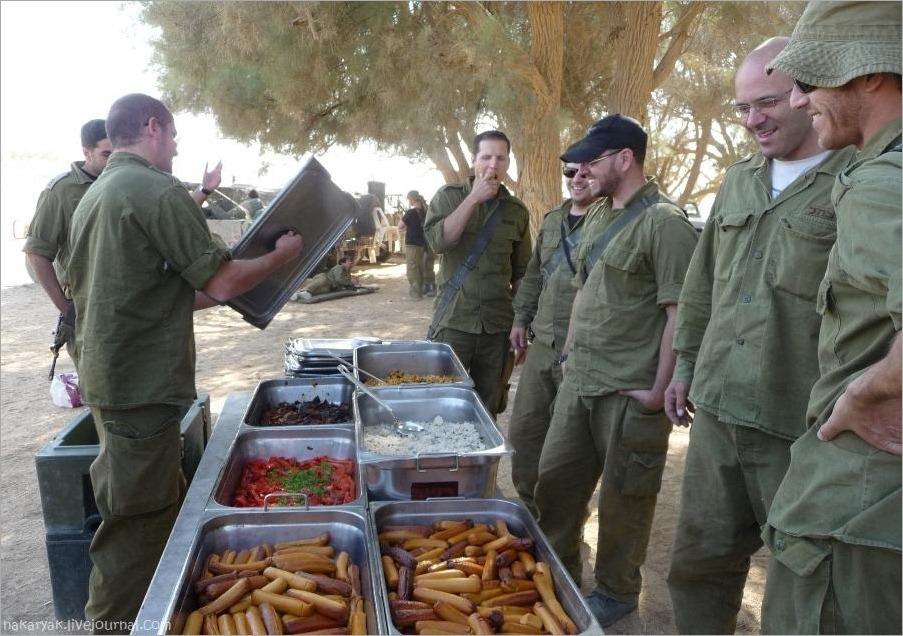 Романтика армейских сборов в Израиле