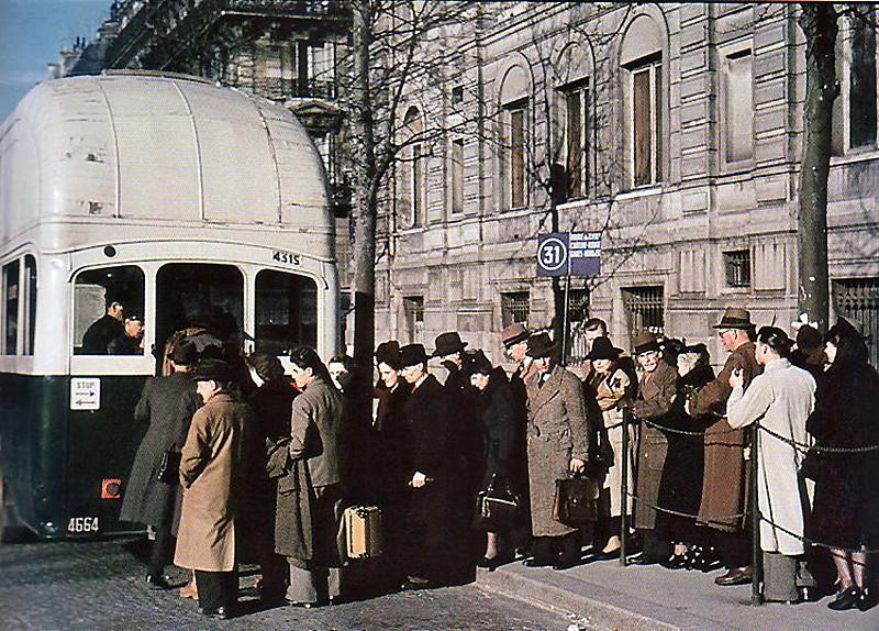 3210 Франция времен немецкой оккупации