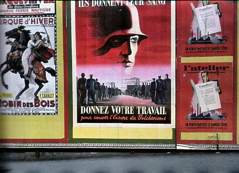 343 Франция времен немецкой оккупации