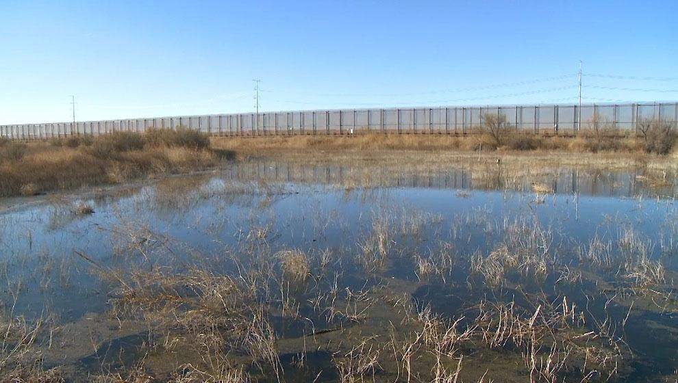 Пограничная стена между США и Мексикой