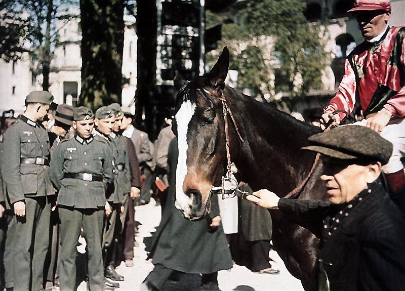 372 Франция времен немецкой оккупации