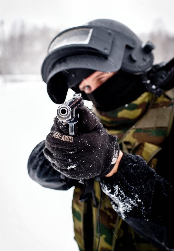 416 Учения милицейского спецназа в Кургане