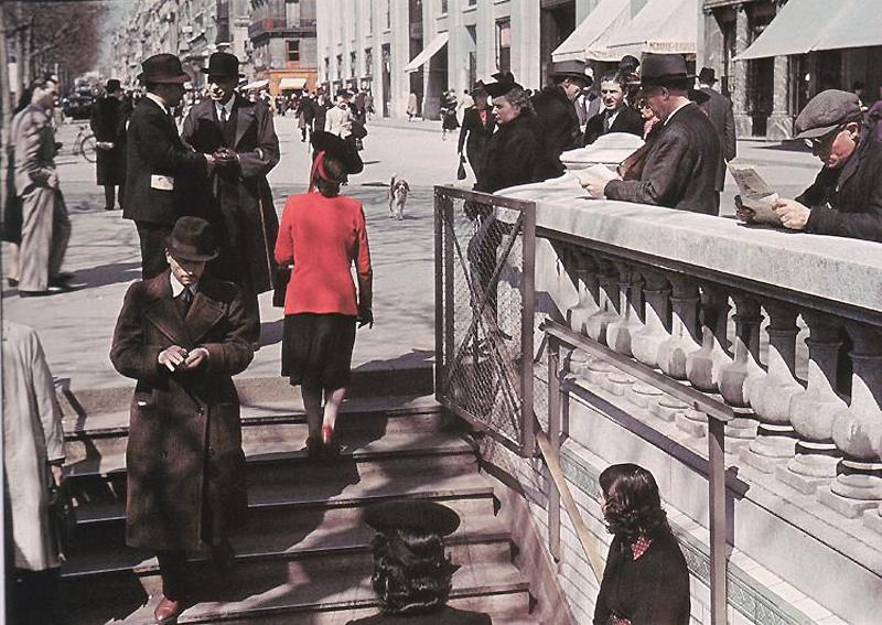 424 Франция времен немецкой оккупации