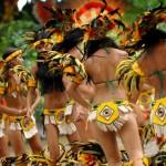 Карнавал бразильских индейцев Бой Мэй Бумба