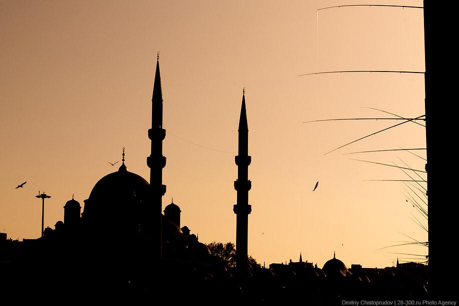 Стамбул: рыбаки и старые рынки