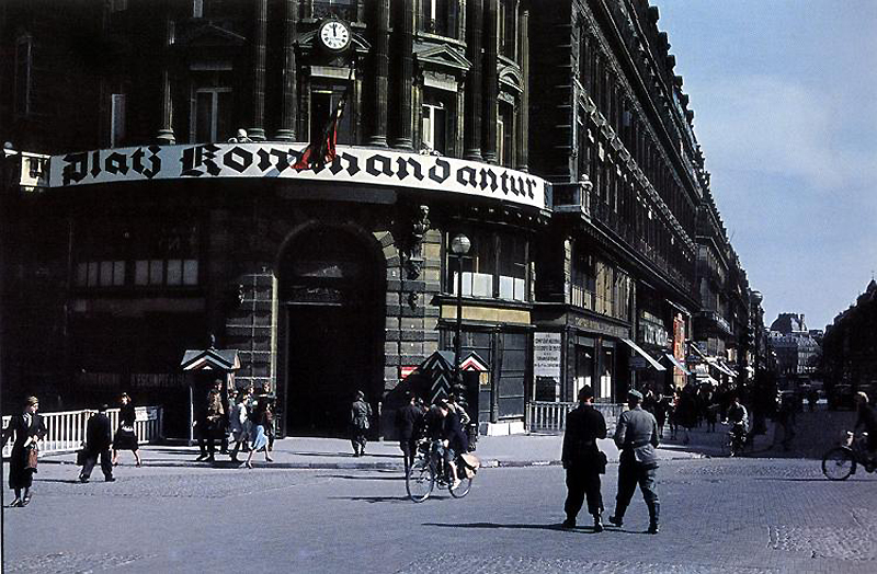 501 Франция времен немецкой оккупации
